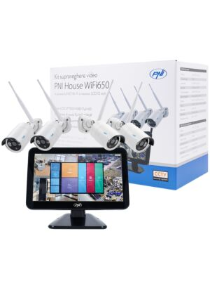 Kit supraveghere video PNI House WiFi650