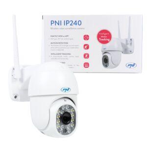 Camera supraveghere video wireless PNI IP240 WiFi PTZ 1080p