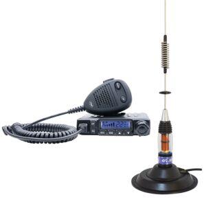 Pachet Statie radio CB PNI Escort HP 6500 ASQ + Antena CB PNI ML70