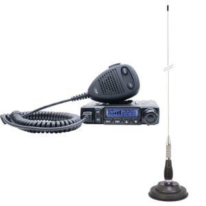 Pachet Statie radio CB PNI Escort HP 6500 ASQ + Antena CB PNI ML100